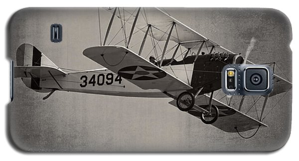 Vintage 1917 Curtiss Jn-4d Jenny Flying  Galaxy S5 Case by Keith Webber Jr
