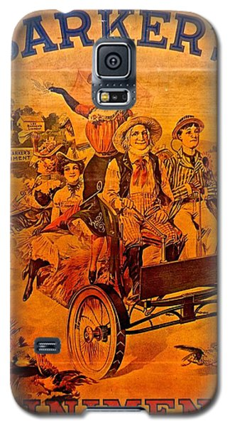 Vintage Ad Barker's Liniment Galaxy S5 Case by Saundra Myles