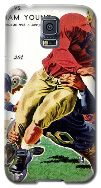 Vintage American Football Poster Galaxy S5 Case