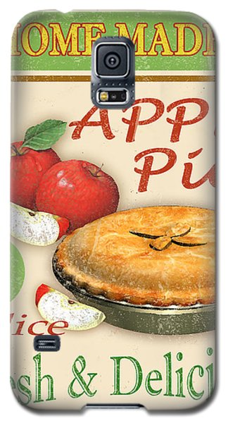 Vintage Apple Pie Sign Galaxy S5 Case by Jean Plout