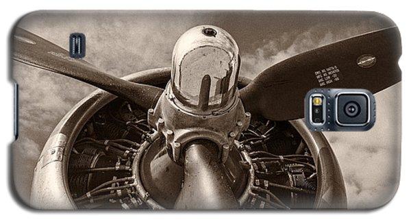 Vintage B-17 Galaxy S5 Case by Adam Romanowicz