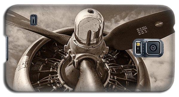 Airplane Galaxy S5 Case - Vintage B-17 by Adam Romanowicz