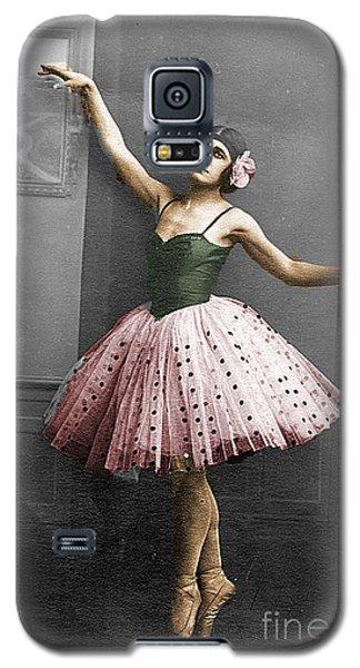 Vintage Ballerina  Galaxy S5 Case