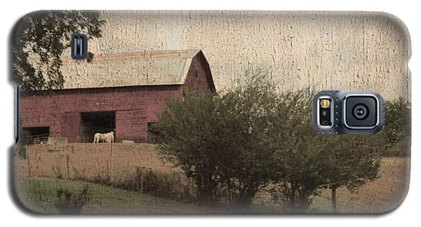 Vintage Barn Scene Galaxy S5 Case