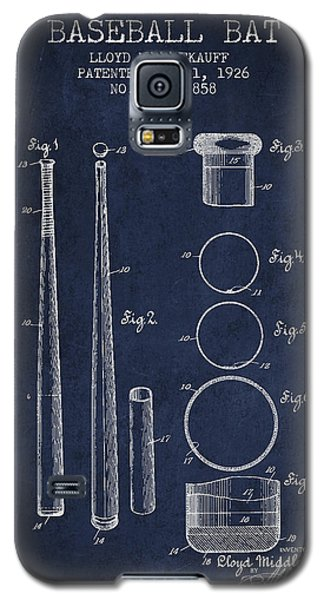 Vintage Baseball Bat Patent From 1926 Galaxy S5 Case