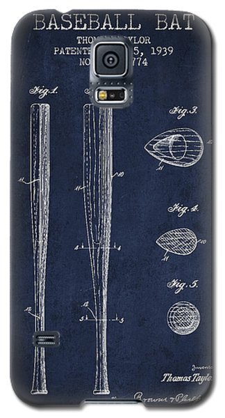 Vintage Baseball Bat Patent From 1939 Galaxy S5 Case