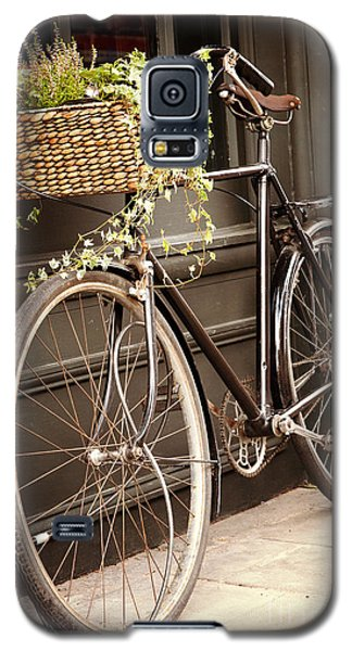 Bicycle Galaxy S5 Case - Vintage Bicycle by Jane Rix