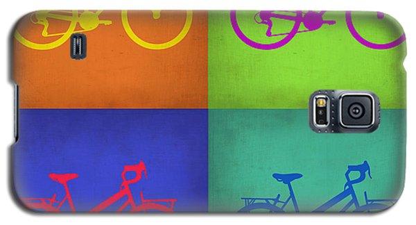 Motorcycle Galaxy S5 Case - Vintage Bicycle Pop Art 1 by Naxart Studio