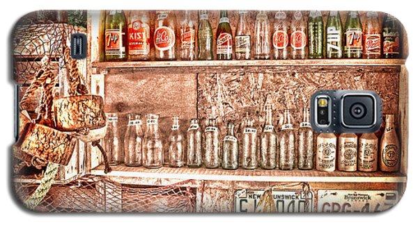 Vintage Bottle Collection Galaxy S5 Case by Patricia L Davidson