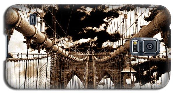 Vintage Brooklyn Bridge Galaxy S5 Case