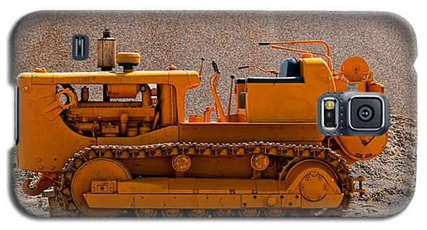 Vintage Bulldozer Galaxy S5 Case by Les Palenik