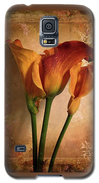 Galaxy S5 Case featuring the photograph Vintage Calla Lily by Jessica Jenney