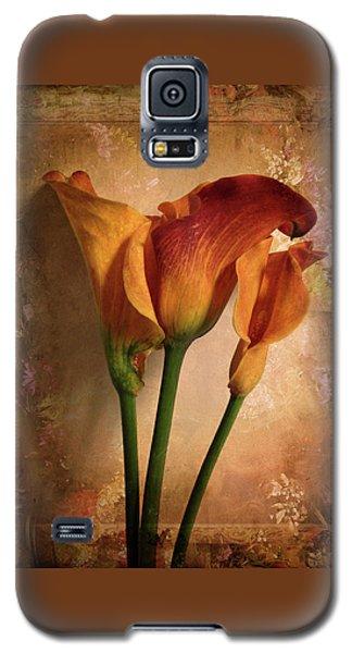 Vintage Calla Lily Galaxy S5 Case