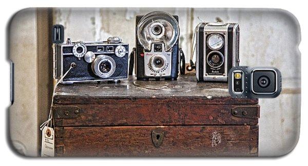 Vintage Cameras At Warehouse 54 Galaxy S5 Case