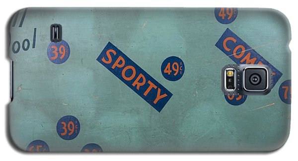 Vintage Cap Sign Galaxy S5 Case by Kurt Olson