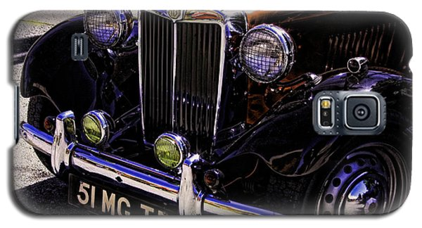 Vintage Car Art 51 Mg Td Copper Galaxy S5 Case
