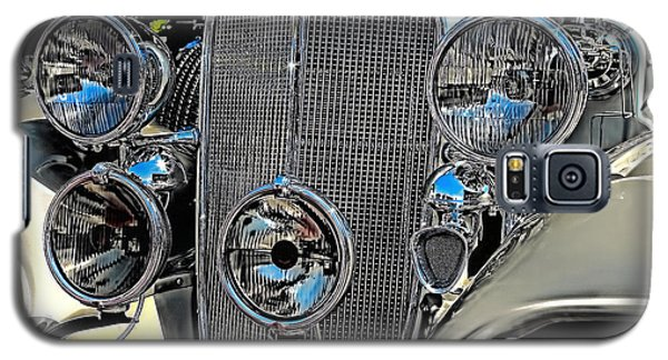 Vintage Car Art Buick Grill And Headlight Hdr Galaxy S5 Case