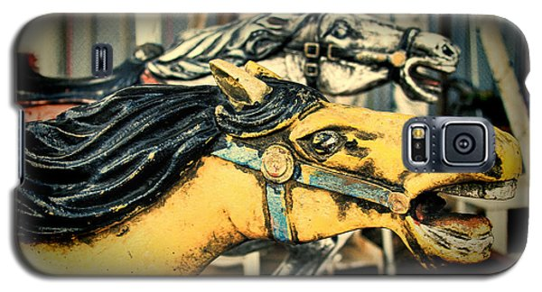 Vintage Carousel Horses 009 Galaxy S5 Case