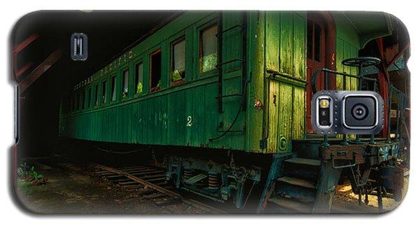 Vintage Central Pacific Galaxy S5 Case