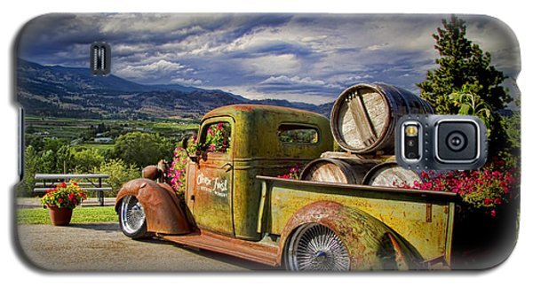 Vintage Chevy Truck At Oliver Twist Winery Galaxy S5 Case