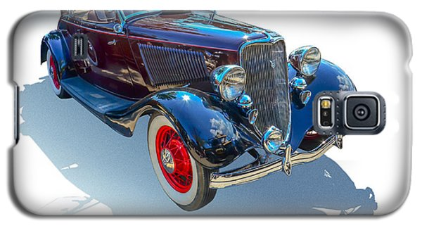 Galaxy S5 Case featuring the photograph Vintage Convertible by Gianfranco Weiss