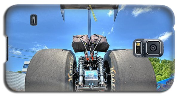 Galaxy S5 Case featuring the photograph Vintage Drag Racer by Gianfranco Weiss