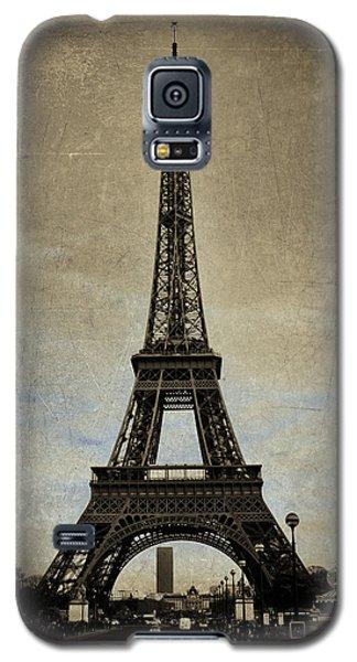 Vintage Eiffel Bronze Galaxy S5 Case