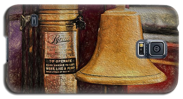 Vintage Fire Fighting  ... Galaxy S5 Case