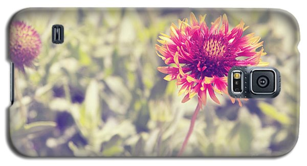 Galaxy S5 Case featuring the photograph Vintage Flowers by Mohamed Elkhamisy