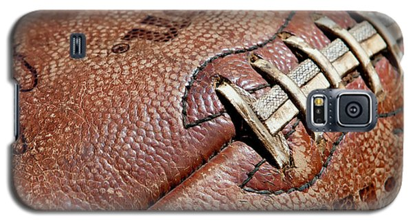 Vintage Football Galaxy S5 Case by Art Block Collections