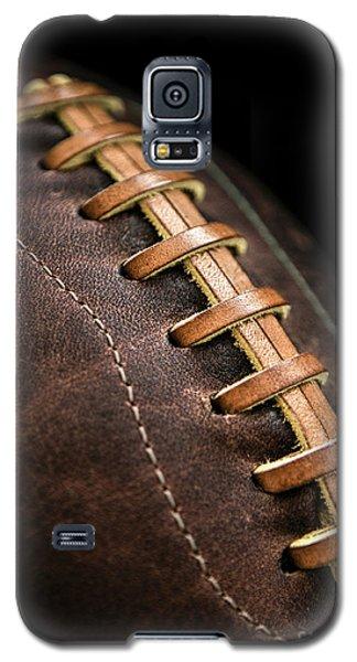 Sport Galaxy S5 Case - Vintage Football by Diane Diederich