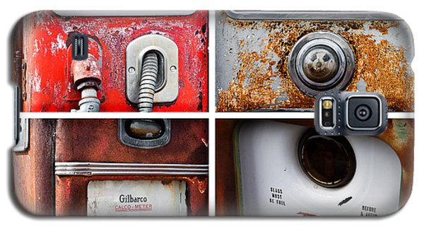 Vintage Fuel Pumps Collage Galaxy S5 Case