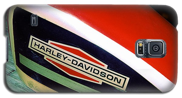 Vintage Harley Davidson Gas Tank Galaxy S5 Case