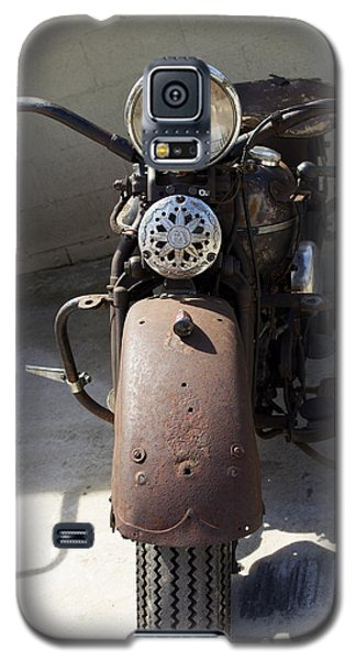 Vintage Harley Galaxy S5 Case by Nick Kirby