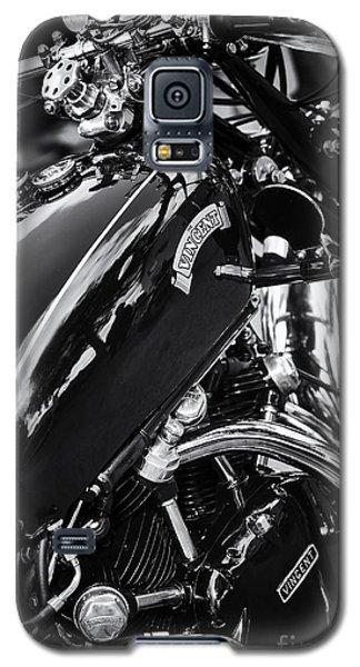 Vintage Hrd Vincent Series D Monochrome Galaxy S5 Case