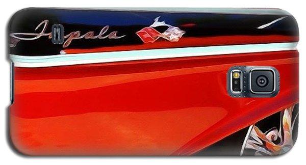 Classic Galaxy S5 Case - Vintage Impala by Heidi Hermes
