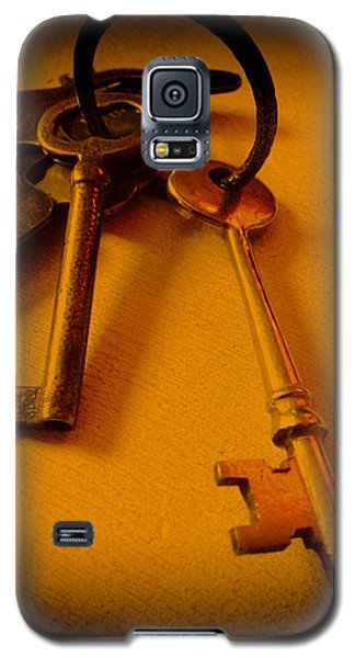Vintage Keys Deep Antiqued Vignette Galaxy S5 Case