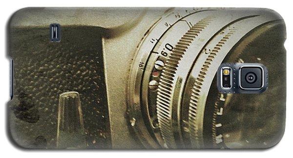Vintage Kiev Camera Galaxy S5 Case by John Colley