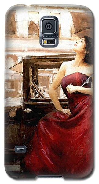 Vintage Lady Galaxy S5 Case