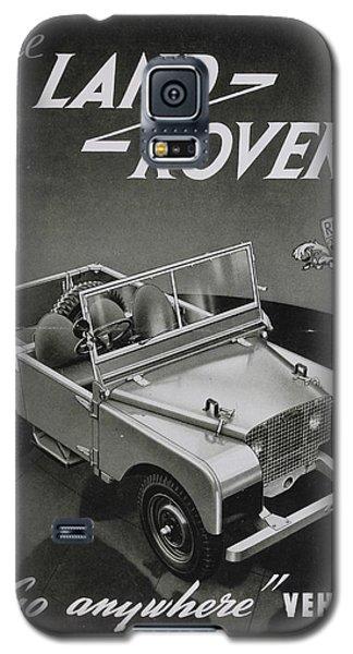 Vintage Land Rover Advert Galaxy S5 Case