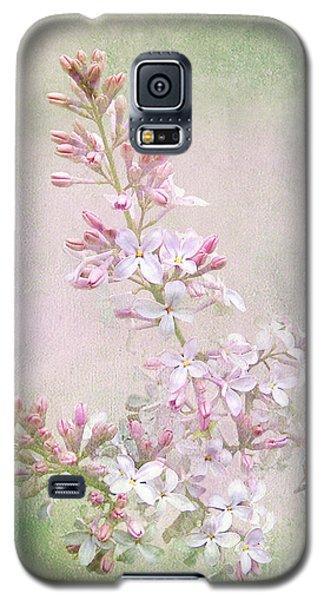 Vintage Lilac Galaxy S5 Case by Kathi Mirto