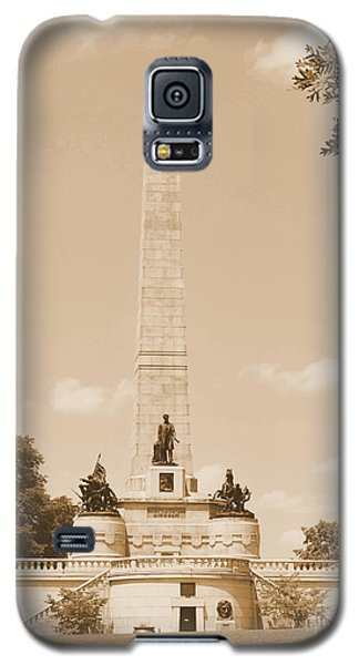 Vintage Lincoln's Tomb Galaxy S5 Case by Luther Fine Art