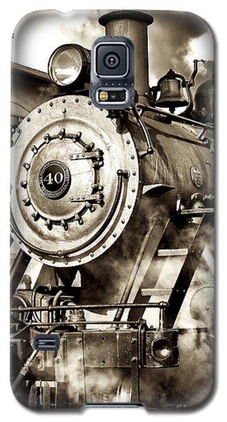 Vintage Locomotive Galaxy S5 Case