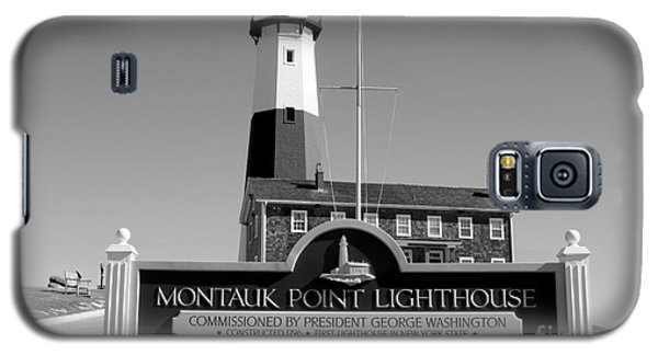 Vintage Looking Montauk Lighthouse Galaxy S5 Case by John Telfer
