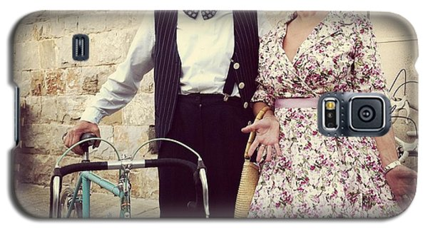 Vintage Love At L'eroica Galaxy S5 Case