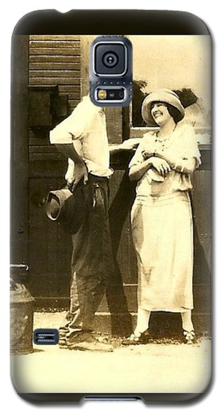 New Orleans Vintage Love In Memory Of My Deceased Grandfather From Ireland I Never New Galaxy S5 Case