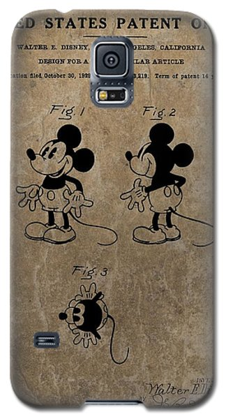 Vintage Mickey Mouse Patent Galaxy S5 Case