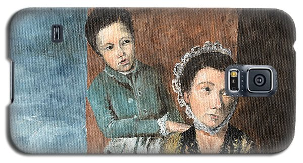 Vintage Mother And Son Galaxy S5 Case