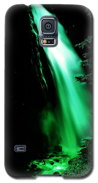 Galaxy S5 Case featuring the photograph Vintage Narada Falls Early 1900 Era... by Eddie Eastwood
