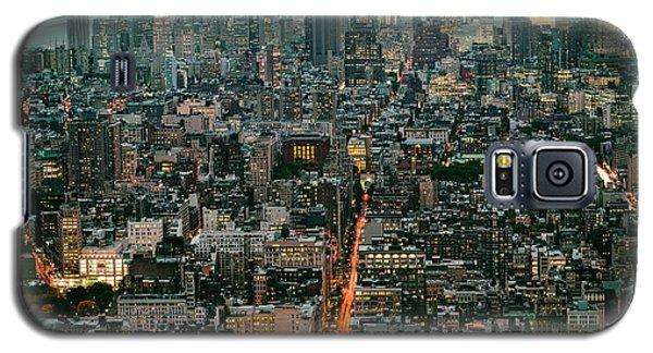 Vintage New York Skyline Galaxy S5 Case